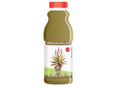 Whole-leaf Aloe Juice Cranberry 500ml