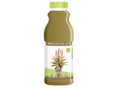 Whole-leaf Aloe Juice Mint 500ml