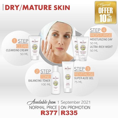 Dry Mature Skincare Set