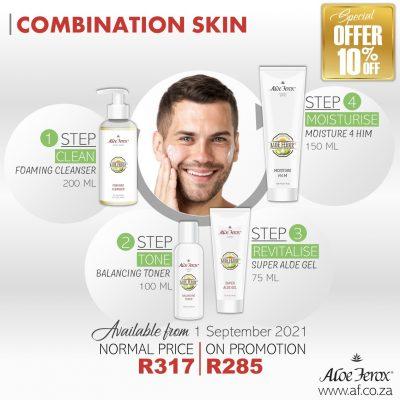 Combination Skin Set Male